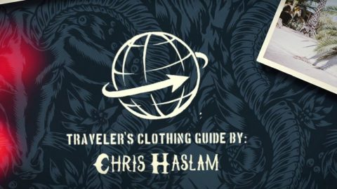 Turbokolor Co. Traveler's Clothing Guide by Chris Haslam - Vert Shirt - Turbokolor Co. Official Channel