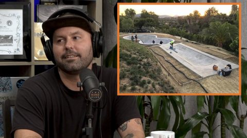 Turning Backyards Into Skate Spots - Kyle Berard, Front Rock Inc | The Nine Club Highlights