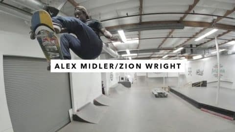 TWS Park: Alex Midler and Zion Wright | TransWorld SKATEboarding - TransWorld SKATEboarding