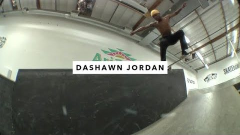 TWS Park: Dashawn Jordan - TransWorld SKATEboarding
