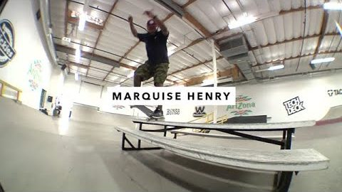 TWS Park: Marquise Henry and Chad Tim Tim | TransWorld SKATEboarding