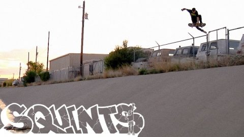 "Tyler ""Squints"" Imel - Board Release Part - The Berrics"