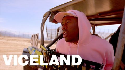 Tyler, the Creator Goes Off-Roading with Bucky Lasek - VICELAND