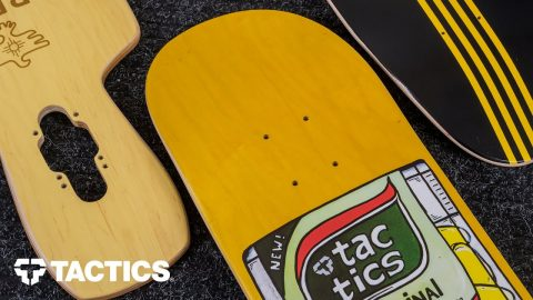 Types of Skateboard Decks | Skateboard Buying Guide - Tactics | Tactics Boardshop