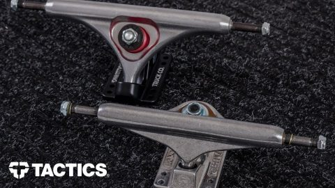Types of Skateboard Trucks | Skateboard Buying Guide - Tactics | Tactics Boardshop