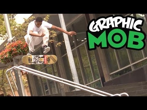 Tyshawn Jones: Graphic MOB x Hardies Hardware - Mob Grip