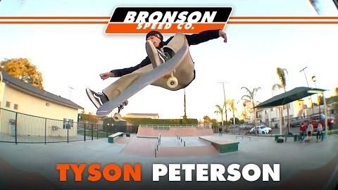 Tyson Peterson skating Clarkedale skatepark with the homies | Bronson Speed Co.