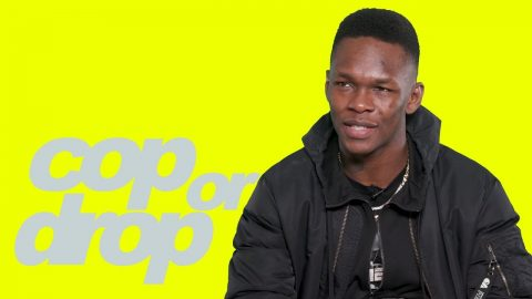 UFC Champ Israel Adesanya Reacts to $3K Cheeto, Toe Slippers & Kanye 'Jesus is King'   Cop or Drop   Highsnobiety
