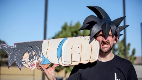 ULTRA BRAILLE?!? GOKU BOARD YOU MAKE IT WE SKATE IT EP 251 | Braille Skateboarding