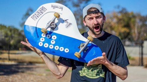Unbendable Metal Skateboard | You Make It We Skate It | Braille Skateboarding