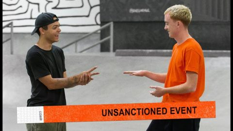 Unsanctioned Battle Of Flatbar S.K.A.T.E. | Lucas Rabelo Vs. Tyler Peterson | The Berrics