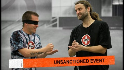 Unsanctioned Game Of S.K.A.T.E. Blindfolded | Dan Mancina Vs. David Reyes | The Berrics
