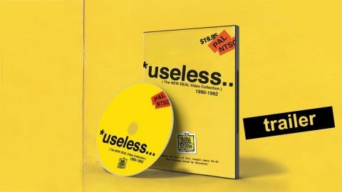 *useless (The NEW DEAL Video Collection) 1990-1992 DVD Trailer | New Deal Skateboards