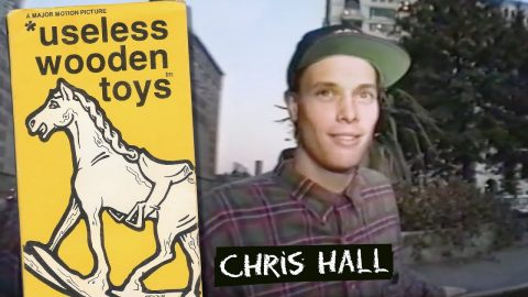* useless wooden toys: Chris Hall Part | New Deal (1990) | New Deal Skateboards