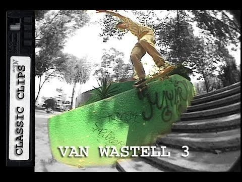 Van Wastell Skateboarding Classic Clips Part 3 #269 - Skateintheday