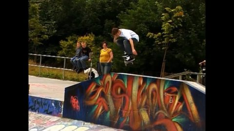 Vans 'Are We There Yet?' Tour 2007 - Part 5: Glasgow. - Sidewalk Mag