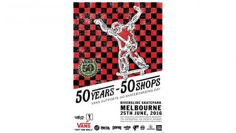 Vans Australia presents Go Skateboarding Day 2016 | Tony T-bags Woodward