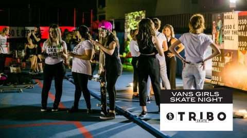 Vans Girls Skate Night Brasil - Tribo Skate
