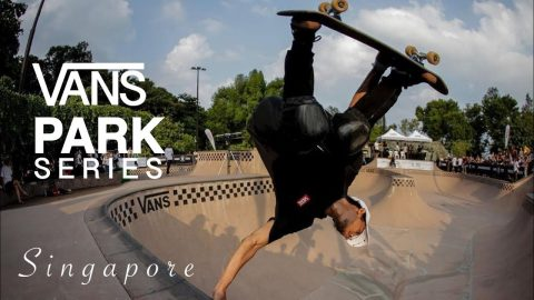 vans park series singapore 2019 - indonesia juara 1st | Pevi Permana
