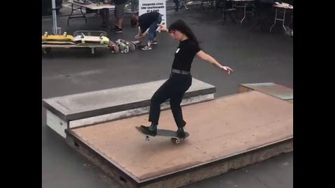 "Vans ""Show Us Your Style"" Girls Skate Clinic 2019 
