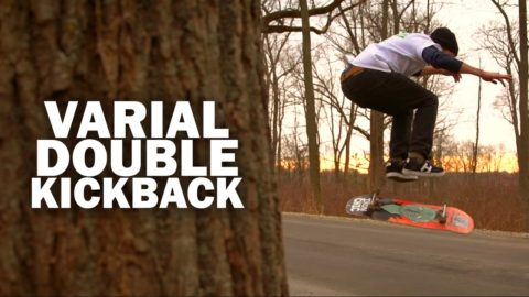 Varial Double Kickback: Kyle Kraus || ShortSided - Brett Novak