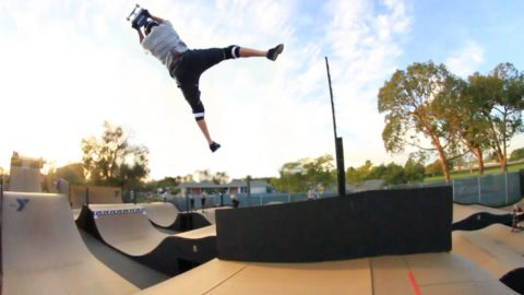 Varialflip Backflips & More - Beaver Fleming The Fly Out King - RIDE Channel