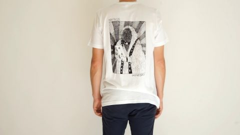 VHS MARY BACKPRINT T-SHIRT WHITE | NOSTALGIA SKATEBOARDS