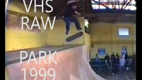 VHS RAW - First sessions at the Bus Station Skate Park 1999 - Five eyes Skateboarding