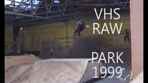 VHS RAW   First sessions  (PART 2)at the Bus Station Skate Park - Five eyes Skateboarding