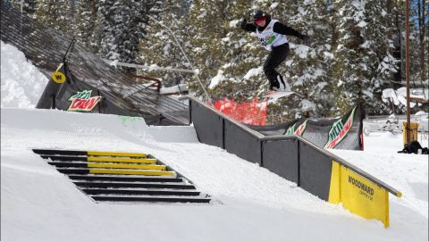 Video Highlights: Best of G.W.R. by Nikita Snowboard Streetstyle | Dew Tour Copper 2020 | Dew Tour