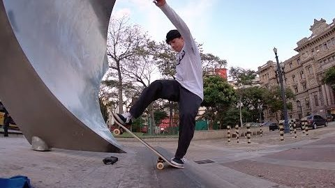 Vídeo Parte: Luiz Francisco | DC Shoes - CemporcentoSKATE