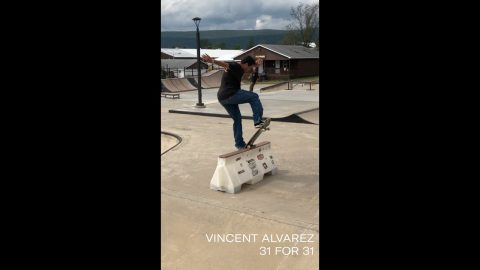 Vincent Alvarez 31 for 31 | thejoeface1