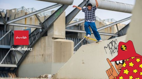 Vincent Alvarez | Fuzzy Vision Commercial | Chocolate Skateboards | crailtap