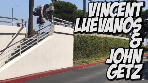 VINCENT LUEVANOS AND JOHN GETZ ARE CRAZY GOOD !!! - NKA VIDS - - Nka Vids Skateboarding