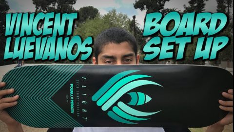 VINCENT LUEVANOS BOARD SET UP AND CRAZY SESSION !!! - NKA VIDS - - Nka Vids Skateboarding