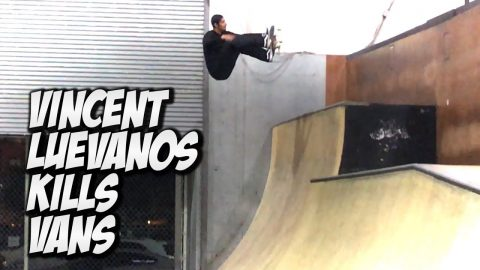 VINCENT LUEVANOS KILLS VANS PARK AND MUCH MORE !!! NKA VIDS - Nka Vids Skateboarding