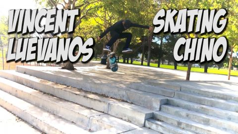 VINCENT LUEVANOS SKATING CHINO AND MUCH MORE !!! - NKA VIDS - - Nka Vids Skateboarding