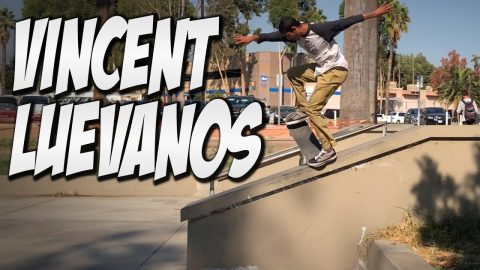 VINCENT LUEVANOS SKATING WITH BLKWD DENIM !!! - NKA VIDS - - Nka Vids Skateboarding