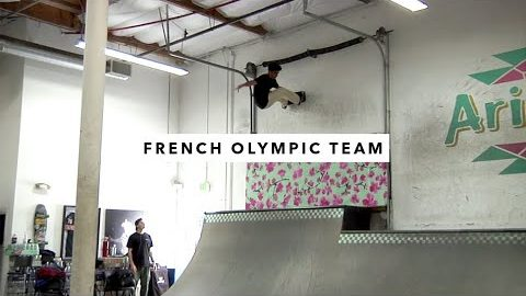 Vincent Milou and the French Olympic Team | TransWorld SKATEboarding