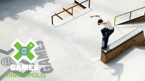 Vincent Milou qualifies first in Men's Skateboard Street | X Games Minneapolis 2018 | X Games