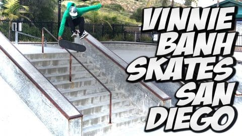 VINNIE BANH AND FRIENDS VISIT SAN DIEGO !!! - A DAY WITH NKA - - Nka Vids Skateboarding