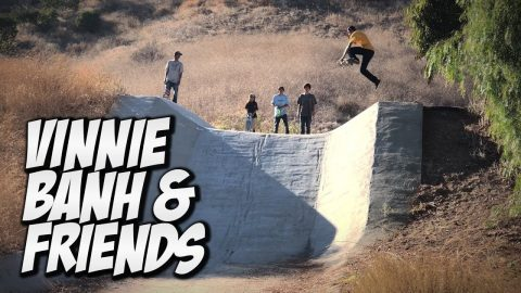 VINNIE BANH, CARLOS LASTRA & VINCENT KILL THE VALLEY !!!   NKA VIDS - Nka Vids Skateboarding