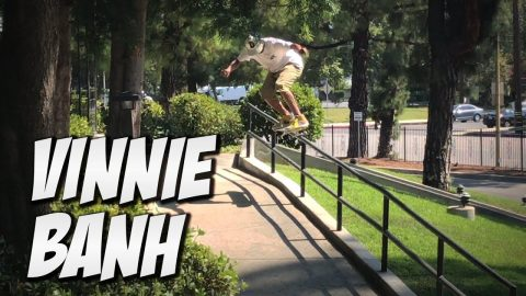VINNIE BANH CHANNEL TAKE OVER !!! - Nka Vids Skateboarding
