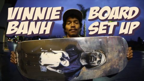 VINNIE BANH RE EDIT, BOARD SET UP & INTERVIEW !!!! - Nka Vids