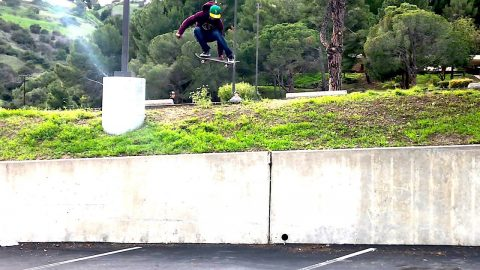 VINNIE BANH SKATES THE CLIFF AND MUCH MORE !!! - NKA VIDS - | Nka Vids Skateboarding