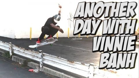 VINNIE BANH TAKES OVER MY CHANNEL AGAIN !!! - A DAY WITH NKA - Nka Vids Skateboarding