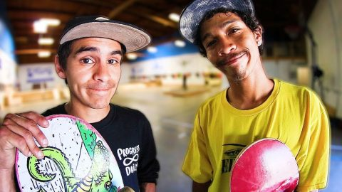 VINNIE BANH VS CARLOS LASTRA, THE REMATCH! - Braille Skateboarding