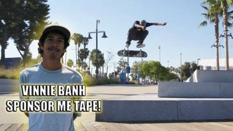 VINNIE BANH'S FIRST SPONSOR ME TAPE!
