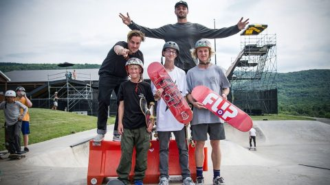 VIP: Flip Skateboards Bump to barrier contest | Woodward Camp