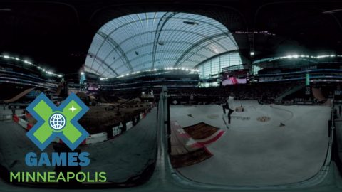 Virtual Reality: Men's Skateboard Street Final Highlights | X Games Minneapolis 2017 - X Games